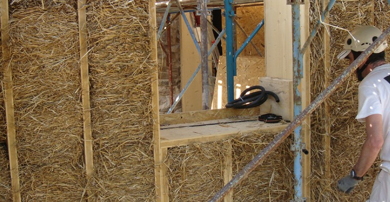 10 answers for a straw bale building
